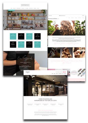 We're an Australian-based website design and online marketing company, which specialises in the salon and spa industry.  We know that first impressions count, so we're here to help you create a stunning website that represents your business and helps you attract more clients.  We are more than a web design agency; we like to consider ourselves partners in your salon, spa or clinic, with the goal of helping you succeed in the digital world.    Gone are the days of spending an average of $3,500 for a basic website; we offer affordable web packs starting from only $77 per month.  We want to help you look amazing online and reach new clients.  We love helping you bring your business to life with our beautifully designed websites, and online marketing including SEO, Google AdWords, and social media management.  Our low-cost monthly plans empower you to invest more money into growing your business, giving you the time to do what you do best: making your clients look and feel their best.
